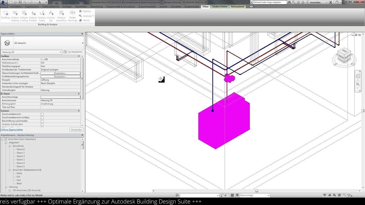 liNear Analyse 15 - Jetzt auch für Autodesk REVIT ® - YouTube
