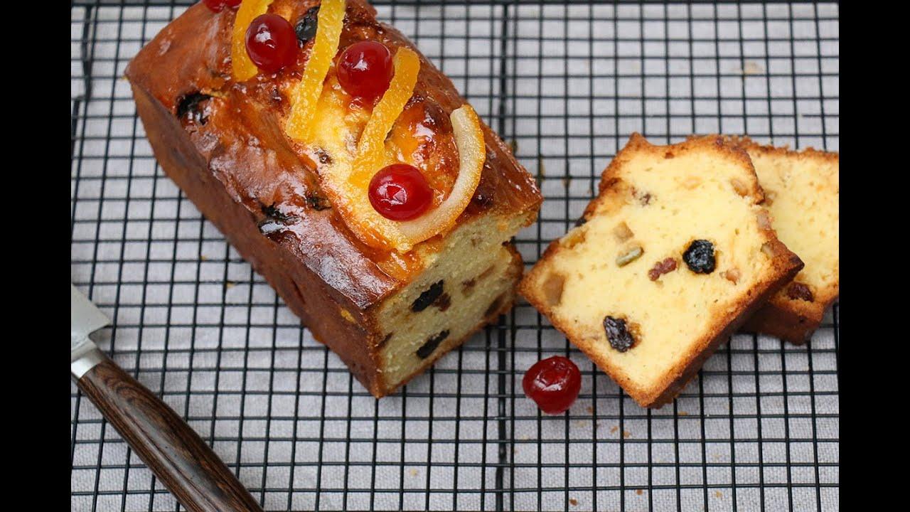 Recette cake facile aux fruits confits moelleux youtube - Herve cuisine cake chocolat ...