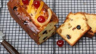 Recette Cake facile aux fruits confits moelleux