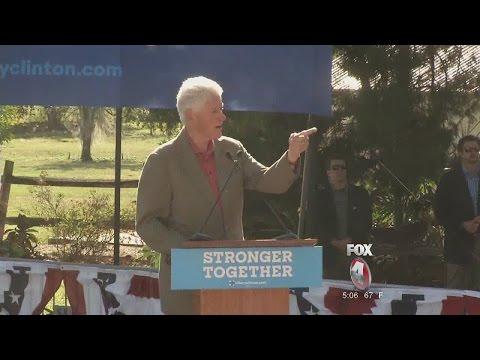Bill Clinton Shuts Down Heckler