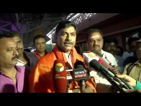 Muralidhar Rao visit to Madurai in Tamil Nadu and Media Inte