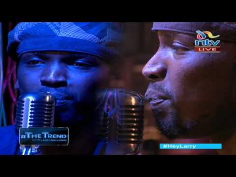 Spoken word artist Mufasa performs 'Freedom' on #theTrend