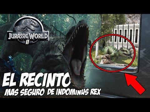 INDOMINUS REX JURASSIC WORLD! EL RECINTO MAS SEGURO! JURASSIC WORLD ARK PARK 2
