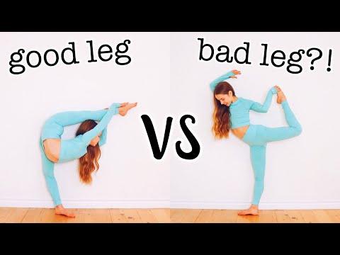 Good Leg VS Bad Leg Flexibility Challenge + Huge Gymshark Black Friday Sale!