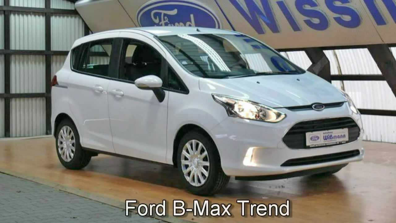 ford b max trend erjkcy13383 klima new ford b max video. Black Bedroom Furniture Sets. Home Design Ideas
