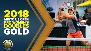 FULL VERSION! PRO Women's Doubles GOLD - Minto US Open Pickleball Championships - CBS Sports