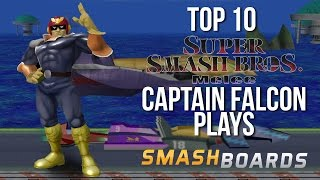 Best of Smash - Top 10 Super Smash Brothers Melee Falcon Plays