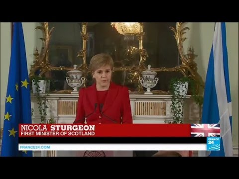 Brexit aftermath: Scottish First Minister Nicola Sturgeon on