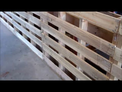 Make A Small Livestock Working Chute From Pallets Part 1