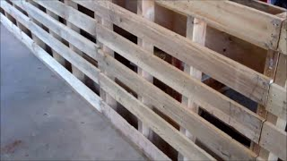 Make A Small Livestock Working Chute From PALLETS~Part 1