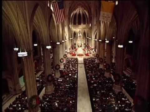 Christmas Midnight Mass St. Patrick's Cathedral 2004