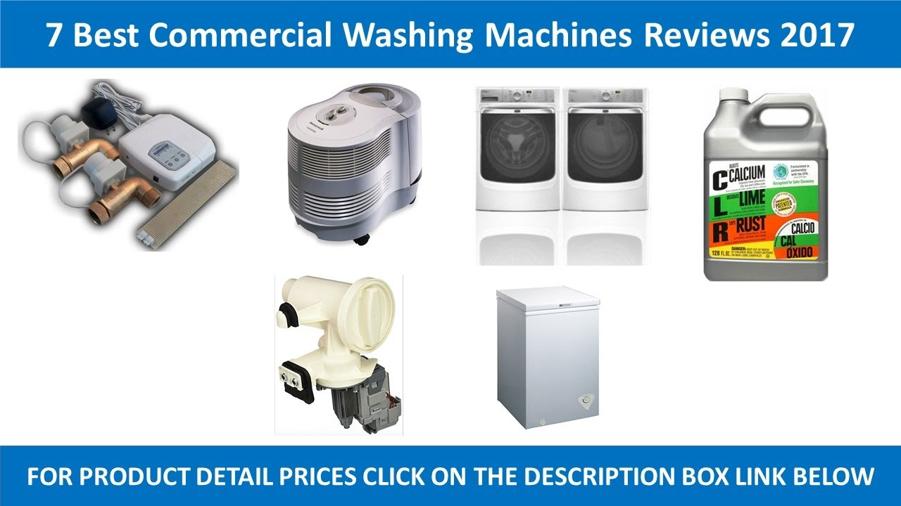 7 best commercial washing machines review 2017. Black Bedroom Furniture Sets. Home Design Ideas