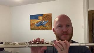 Fluting with Friends: Finger coordination - 5 note exercise - flute