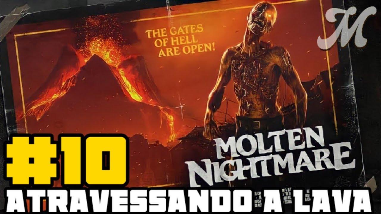 Zombie Army 4: Dead War #10 ATRAVESSANDO O INFERNO, OU A LAVA🔥 ( Detonado PT BR PS4 )