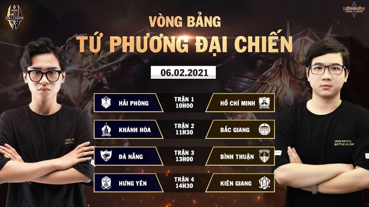 Top 1 tranh tài: Hải Phòng thắng áp đảo TP Hồ Chí Minh | Vòng bảng Tứ Phương Đại Chiến