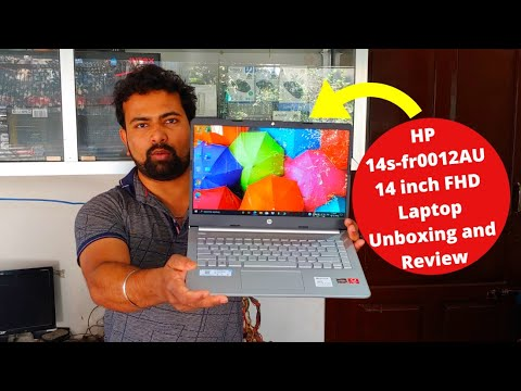 Download HP 14s-fr0012AU 14 inch FHD Laptop Unboxing and Review | #14s-fr0012AU