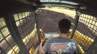 Gehl CTL 60 Motocross Track Build