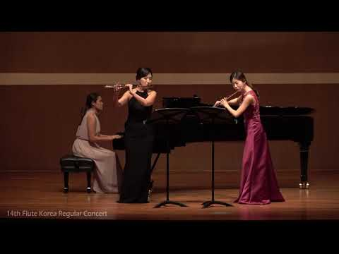 J. S. Bach Double Flute Concerto in d minor, BWV 1043 for 2 Flutes and Piano