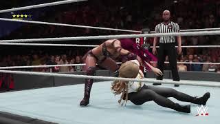 WWE 2K18_Royal Rumble 2019 - Ronda Rousey vs Sasha Banks