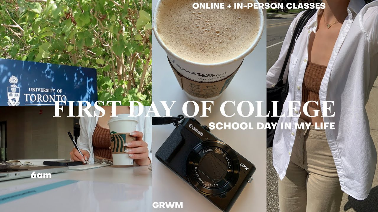 Download FIRST DAY OF UNI: 6am day in my life, grwm, classes (vlog)