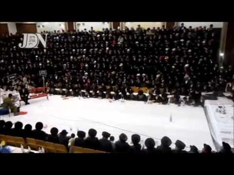 Purim Shpiel @ Tish Of Sanz Klausenburg Rebbe 5774