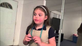 Kindergarten Girl Throws Justin Bieber Shirt in Trash because he is in Jail