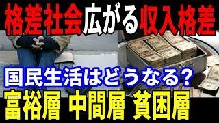 格差社会  驚愕!富裕層・貧困層の収入差はここまで広がっている! thumbnail