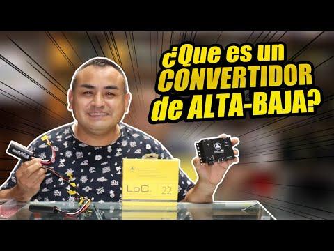 ¿Qué es un convertidor de Alta a Baja?