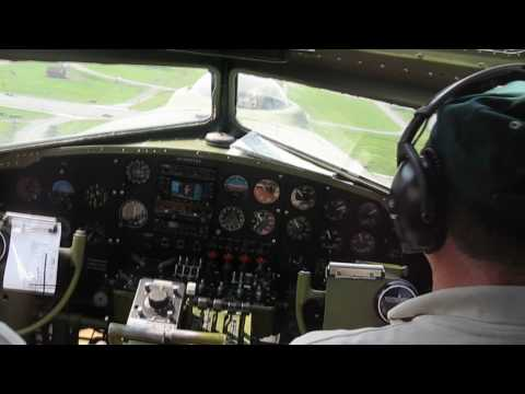 A Flight in the B-17 Flying Fortress Liberty Belle