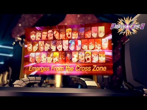 Project X Zone 2 - Launch Trailer | 3DS