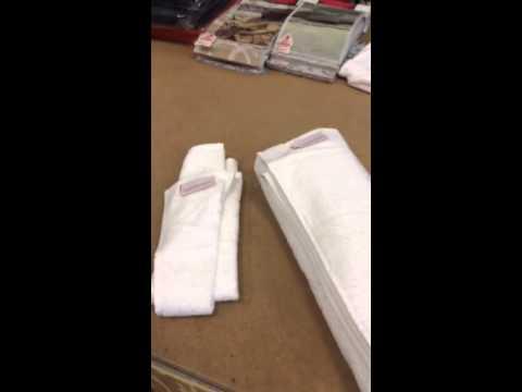 Come piegare asciugamani hotel – Modificare una pelliccia
