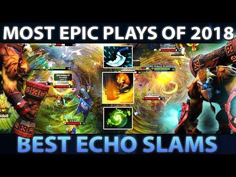 MOST EPIC ECHO SLAMS OF 2018 - Dota 2 thumbnail