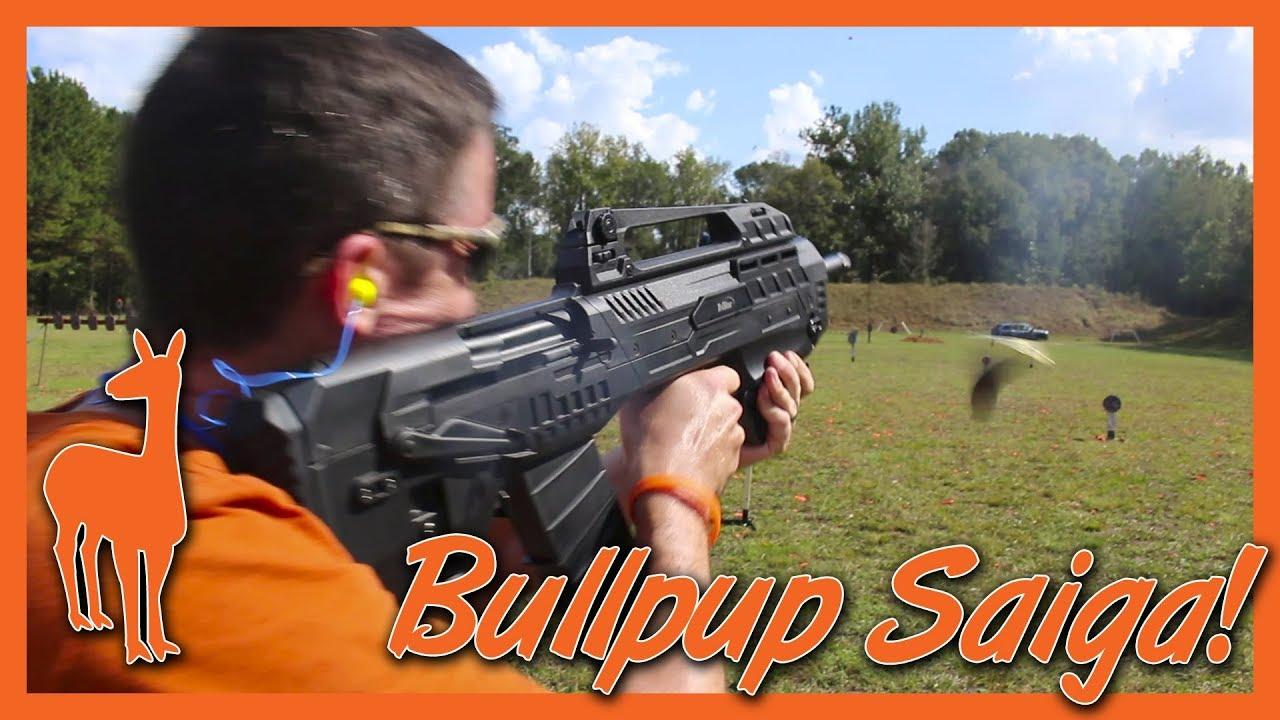 TriStar Compact 12 Gauge at IV8888 Range Day: Bullpup Saiga