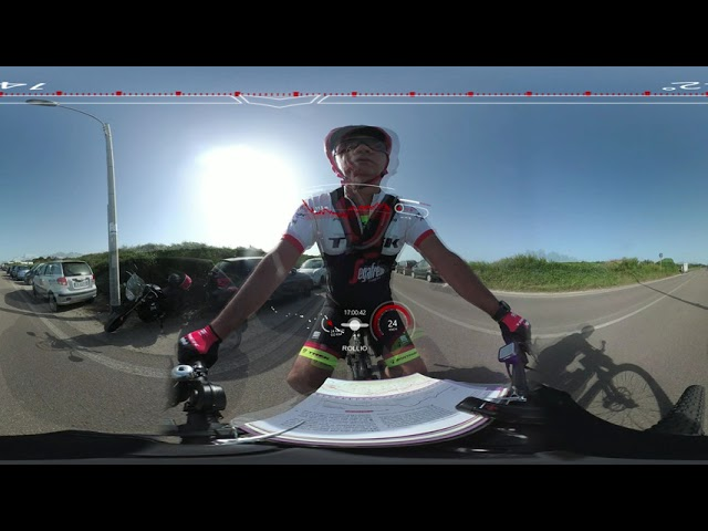 Lecce-Roca in bici elettrica