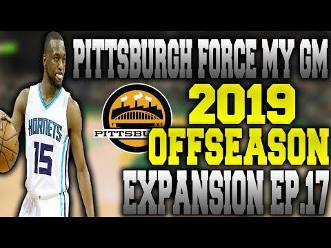 """2019 OFFSEASON"" Force Expansion My League Ep.17 - NBA 2K17"