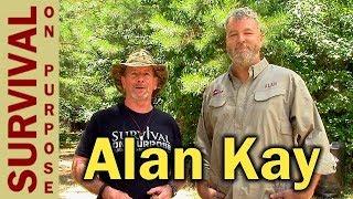 Alan Kay -Alone Season 1 Winner - ECO Survival Group Weekend