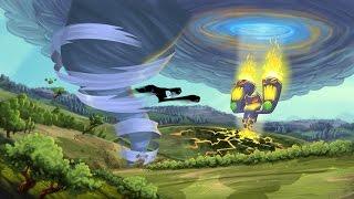 Tornado Outbreak (Xbox 360) ep 3 (Coop con Domkor): Double Wide Damage