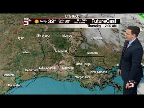 Daniel's Weather Forecast 11/14/18 - YouTube