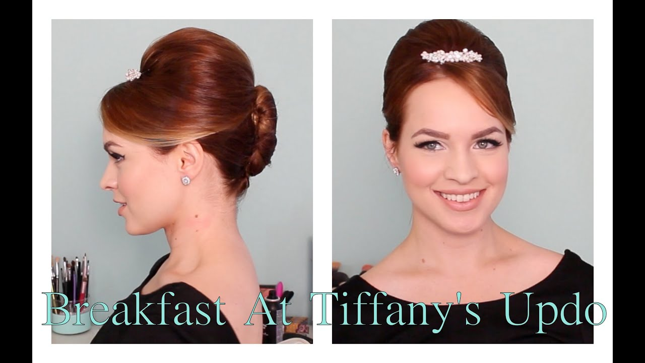 Breakfast At Tiffany S Updo