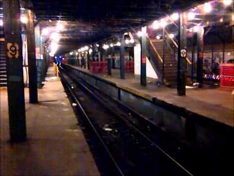9th Avenue Lower Level Abandoned Subway Station