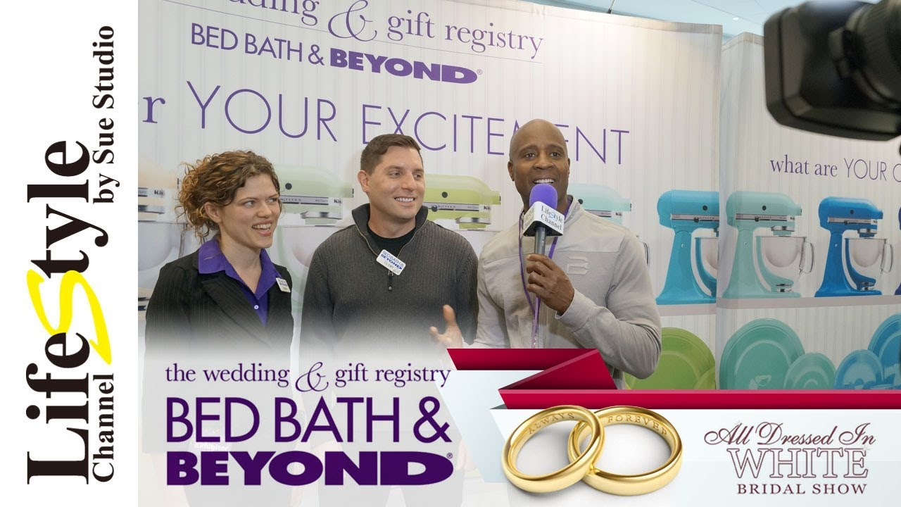 Bed Bath Beyond Wedding Registry.Bed Bath Beyond Wedding Gift Registry On Lifestyle Channel