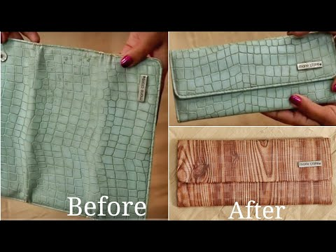 How To Reuse Old Handbags/Purse And Wallets | Old Clutch Repurpose Idea