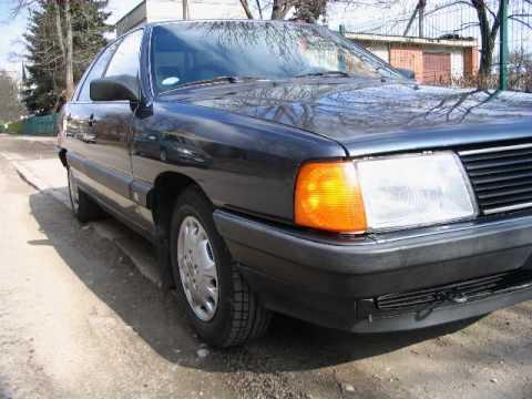 Audi 100 2.2 1985 - YouTube