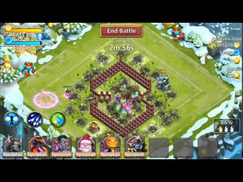 Jtisallbusiness Castle Clash Minotaur Raiding For Gold And Mana