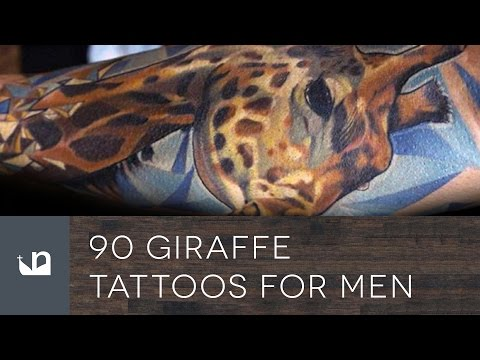 90 Giraffe Tattoos For Men