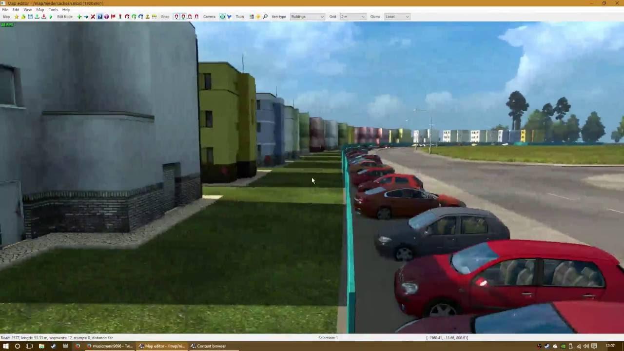 ETS2 map editor #1