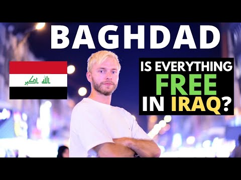 Is Everything FREE in Baghdad, IRAQ? 🇮🇶