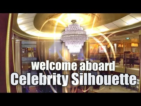 GANGWAY TO CELEBRITY SILHOUETTE  -  vlog102