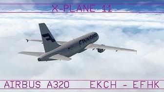 Kööpenhamina - Helsinki · A320 · XP11 · VATSIM
