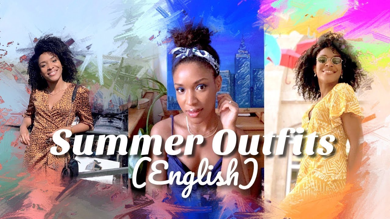SUMMER Outfits ♡ Favorite Dresses / Robes préférées LOOKBOOK ~ Ursula 9